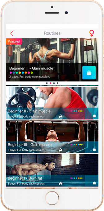 FitKeeper fitness workout routines